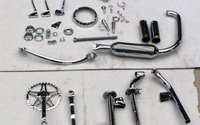 CROMATURA NAPOLEONI SRL  dettaglio produzione: lucidature in acciaio, alluminio e ottone