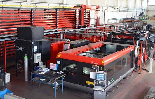 Laser AMADA F1 with CS automatic compact store