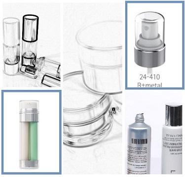 Complete lines of bottles and jars. PP and SAN raw materials availables.