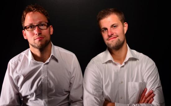 Les deux jeunes fondateurs et directeurs généraux de RESATUR GmbH: Stephan Untiedt et Markus Schacht