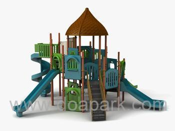 Outdoor playground ,  Public parks playground  Canopy Series , Capacity 23 persons . Age Range : 6+ . Free Fall Height: 2.5Mt     مجموعة العاب اطفال للحدائق . العاب الحدائق من انتاج تركي .