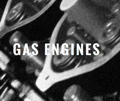 • Overland power plant gas combustion engines