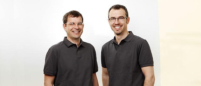 Dr. Marcus Werner und Dr. Alexander Strohmenger.