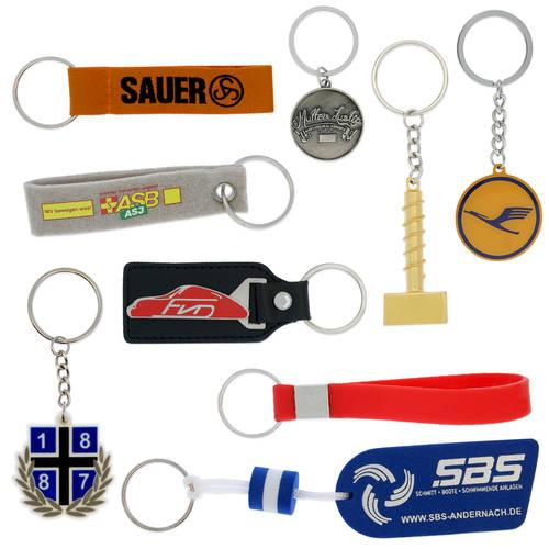 We have a selection of different key pendant in various materials.