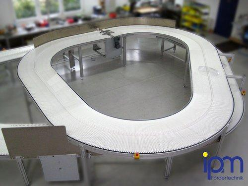 Modulkettenband Oval