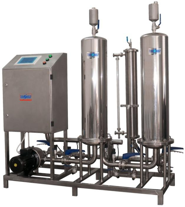 Final filtration