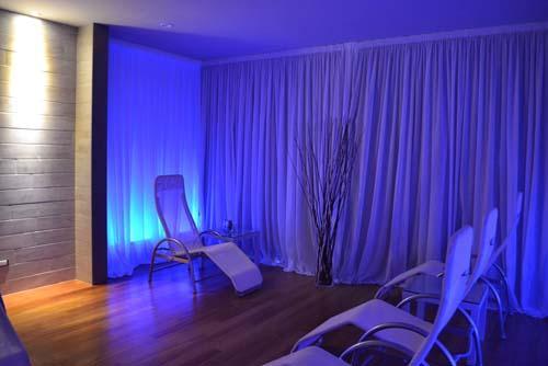 Realizzazione zona spa Hotel in Toscana