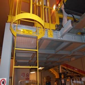 SAFETY STAIRS - INDUSTRIALI WALKWAYS AND LOFTS