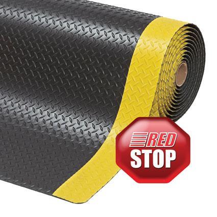 479 Cushion Trax® Höchsten ergonomischen Nutzen durch 14 mm dickes Material mit einer langlebigen  Oberläche  mit einem hervorragenden Anti-Ermüdungs effekt.