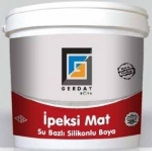 Water based, decorative indoors finish paint with silicon additives, with high fade resistance, and with a silk matt texture.