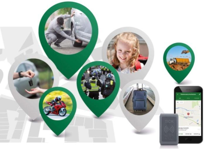 TICK GPS tracker