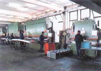 Azienda specializzata lavorazione della lamiera