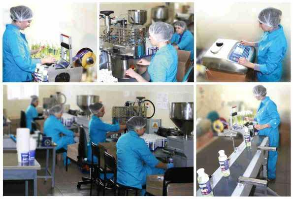 Production of Skin Care Products
