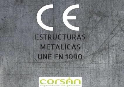 CE Marking metal word