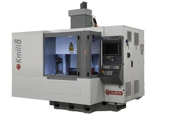 Nuovo centro di fresatura HURON - modello KMill 8