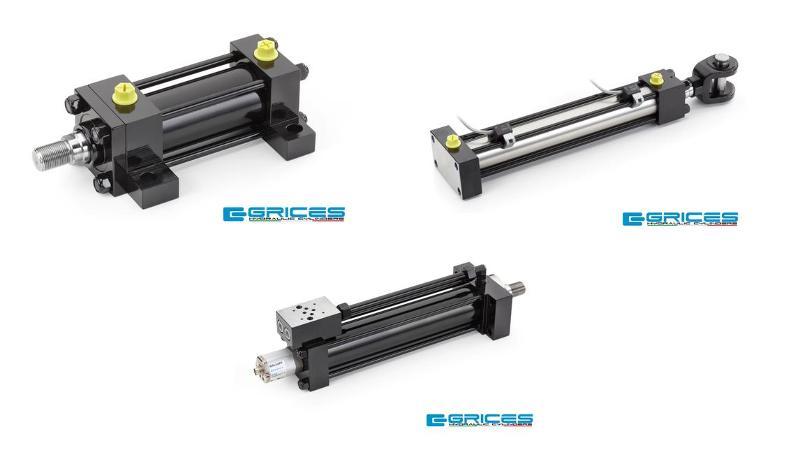 Pistoni idraulici ISO 6020/2 - Serie CH