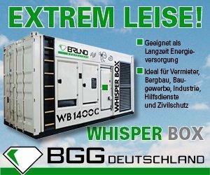 BGG Whisperbox 1250 kVA
