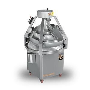 Тестоокруглительная машина (тестоокруглитель) - используется для округления тестовых заготовок.
