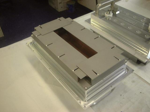Linear Cathode with Uniformity Mask