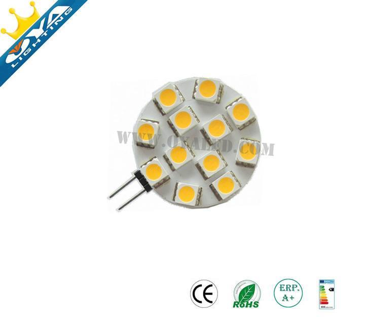 G4 led 12v 1w 2w G4 LED lamp smd 3528 5050