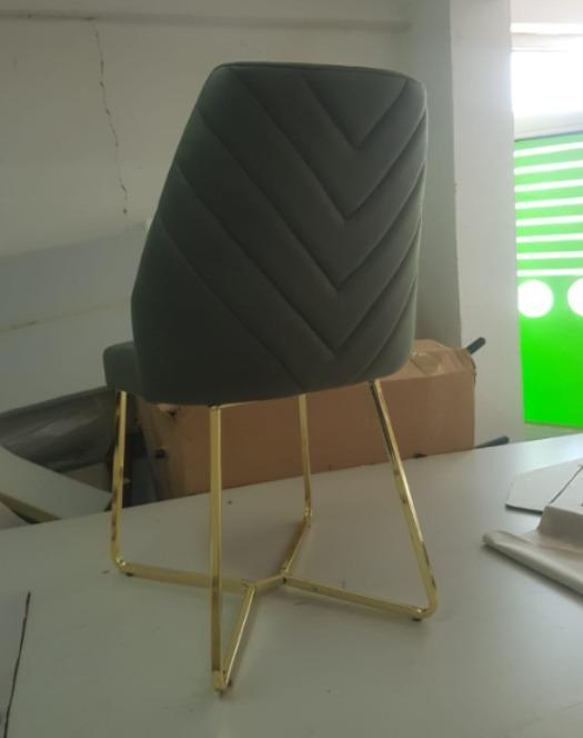 Retro sandalye metal