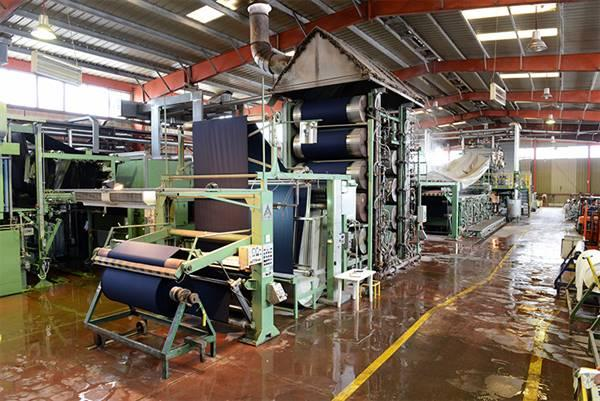 Dyeing and finishing plant