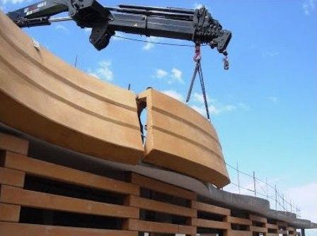 Prefabricado de hormigón arquitectónico