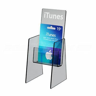 iTunes Aufsteller
