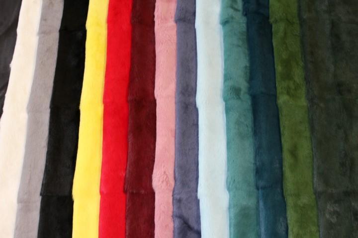 Cartella colori pelliccia lapin