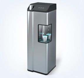 Wasserspender im modernen Design aus Edelstahl