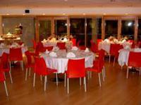 HOTEL LAGO LOSETTA, dettaglio sala ristorante