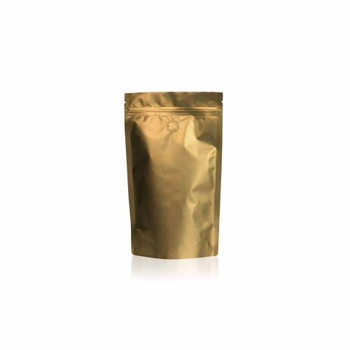 Standbodenbeutel Gold