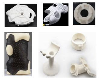 PA material prototype by 3D Printing