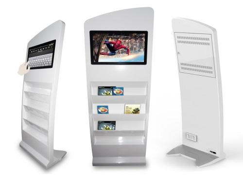 Vi-POS: the video displays are eye-catchers that will boost your image and your sales.