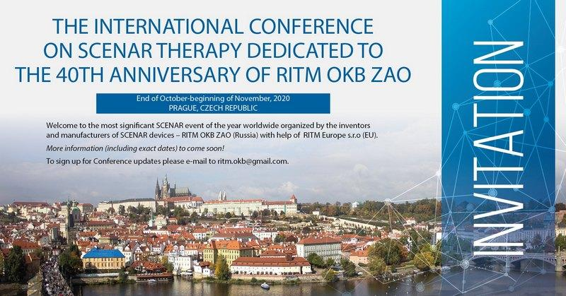Welcome to The International Conference on SCENAR Therapy in Prague, autumn 2020