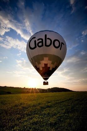 Ballonfahrt am Chiemsee mit dem Gabor Ballon. Sommer Ballonfahren im Chiemgau
