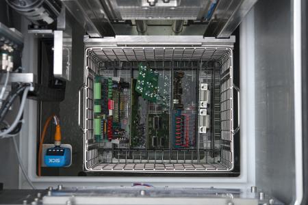 Schutzbeschichtung von elektronischen Baugruppen