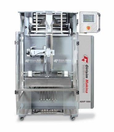 ASVP 1000 Auger Pesage machine Conditionnement de systeme vertical .Dans le choix de l'unité de pesage, de votre type de produit, exigence de capacité et les poids  des paquets sont importants.