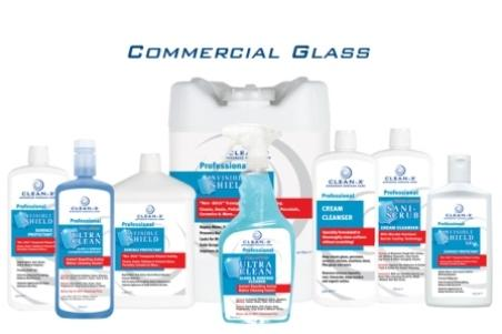 Commercial glass cleaning and protection