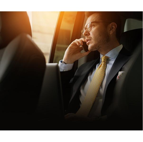 Taxi pour hommes d'affaires