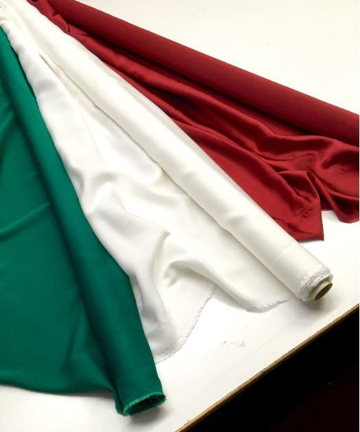 Fabrics made in Italy