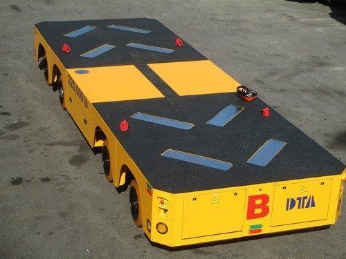 Flachbett-Transportwagen bis 1.000 to