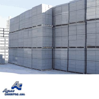 Prefabricated concrete chimney blocks - Aglou Cimentos