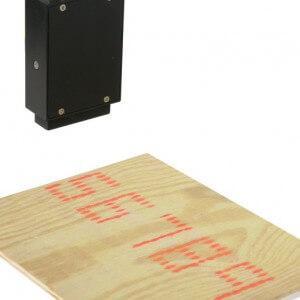 Großschriften DoD-Drucker mit 7-Dot-Matrix.
