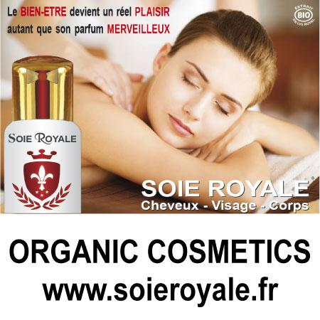 Soie Royal BIO Cure Soyeuse rend les cheveux brillants, une peau soyeuse.