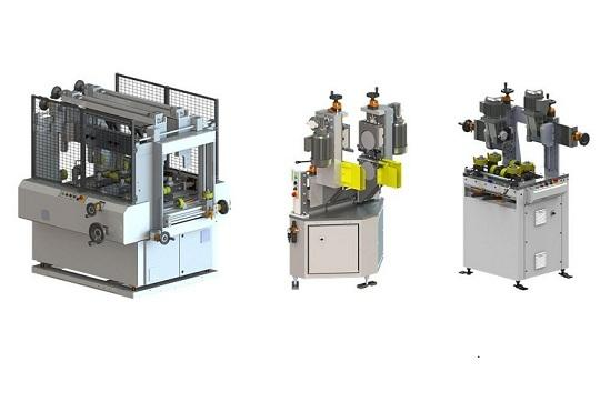 A range of stand-alone machines for knurling, strip insertion and rolling (crimping). Each machine can be purchased separately and is easily integrated into existing production lines.