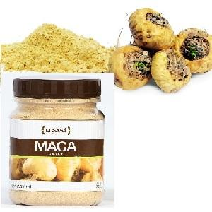Maca is a tuber from Peruvian andes. It contains a high nutritive value as a complement to daily alimentation.