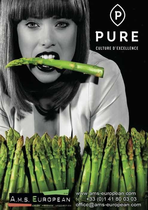 Vente en gros asperges vertes fraiches Rungis, asperges vertes .AMS EUROPEAN est spécialisé depuis 2004 dans l'importation de fruits et légumes par avion pour le marché Français.