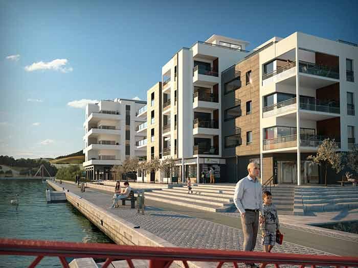 architecture exterieure logements