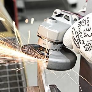 VSM Schleifmittel können im Flach-, Rund- und Handschliff sowie auf handgeführten Maschinen eingesetzt werden.